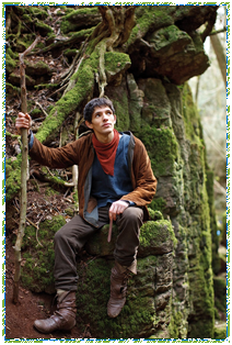 Filming Merlin at Puzzlewood