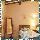 Puzzlewood Cottage Twin Bedroom