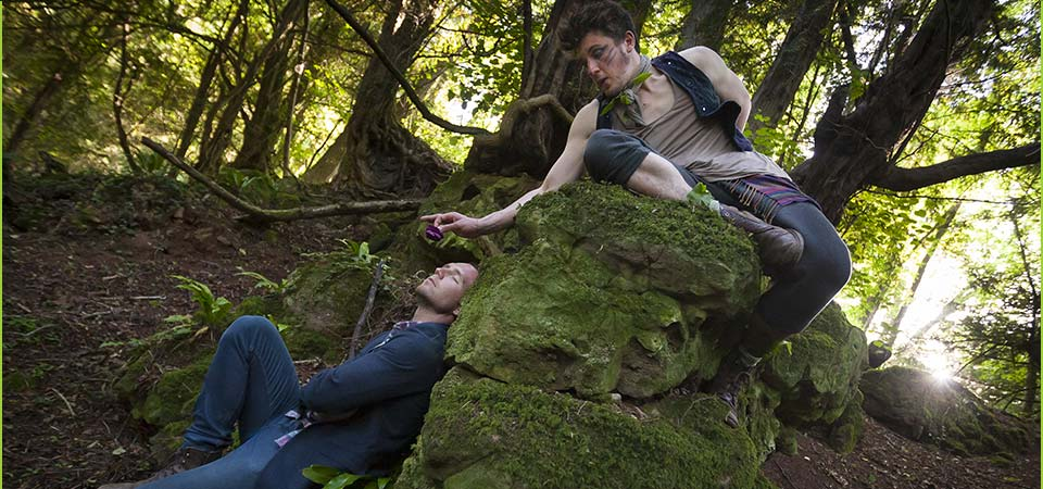 A Midsummer Night's Dream at Puzzlewood - tickets available for 29th/30th June & 1st July...